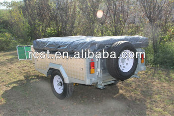Aluminum soft floor camper trailer RC-CPT-08X