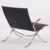 European leather lounge chair Fabricius & Kastholm FK 82 X-Chair