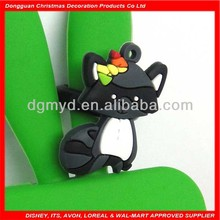 lovely bad tree bear silicone and soft PVC o ring for kids