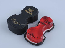 2016 customized violin rosin with violin shaped box