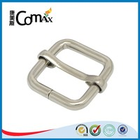 Silver iron hot sale slide metal buckle for bag