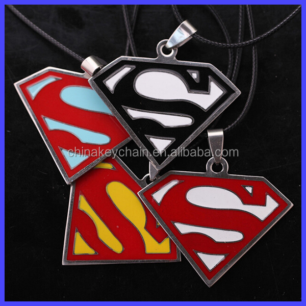 Wholesale Super hero High quality superman logo Key Ring <strong>metal</strong>