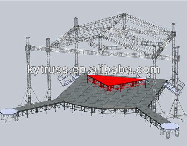 cheap outdoor concert stage equipment