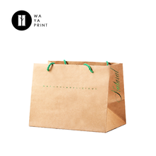printed euro tote paper bag for shopping