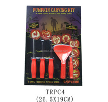 New style 5pcs Halloween decoration pumpkin carving kit