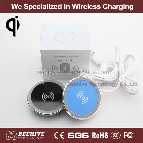 Embedded Type Qi Wireless Charger For Samsung S4 S5 S6 For I