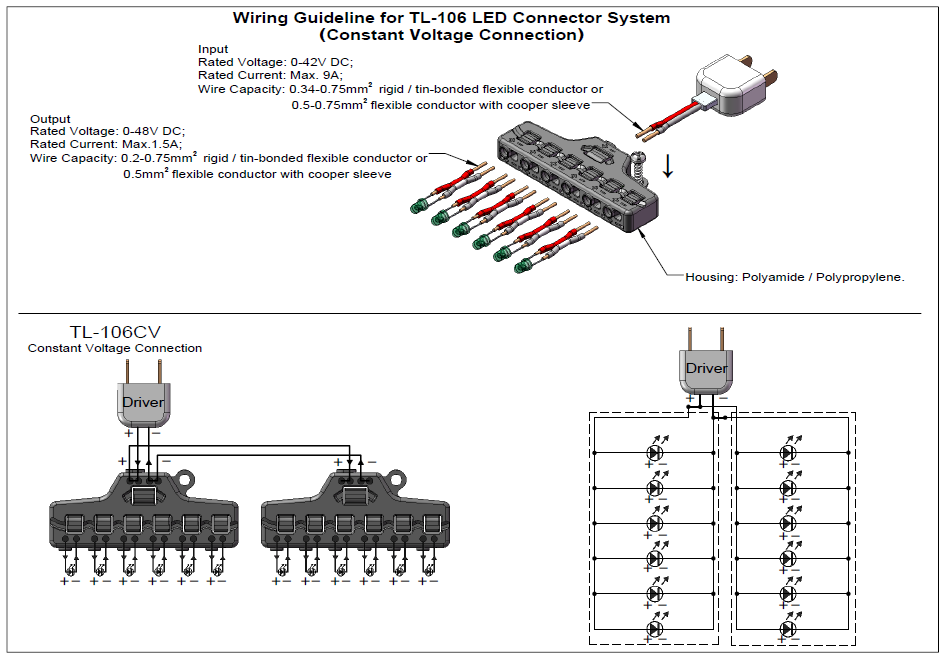 Wire  Capacity | New Product In Series 1 In 6 Out Led Wire Splitter Connector View