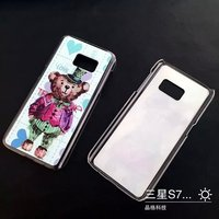 doll image pc/tpu silicone case for iphone and other phone modles UV print accept customize