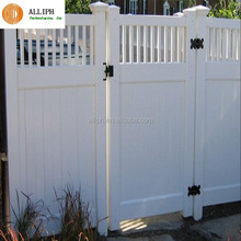 pvc cheap house fence and gates