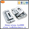 Direct Factory galvanized steel flight case accessories,flight case butterfly lock ISO9001 passed
