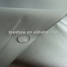 150D polyester oxford fabric with silver coating
