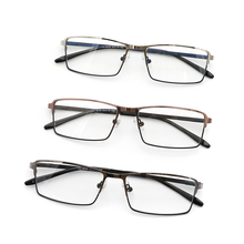 Full-rim light ready goods metal optical eyewear