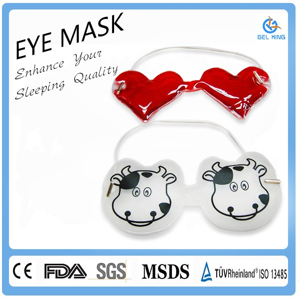 Best Product Reusable Gel Eye Mask Hot/Cold Compress Pack Heat Ice Cool Relieve Stress Tired