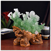 Jade color resin horse staute , chinese zodiac statue,horse ornament