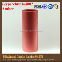 hot sale paper cosmetic packaging tube for eliquid glass bottle, packing craft paper tubes