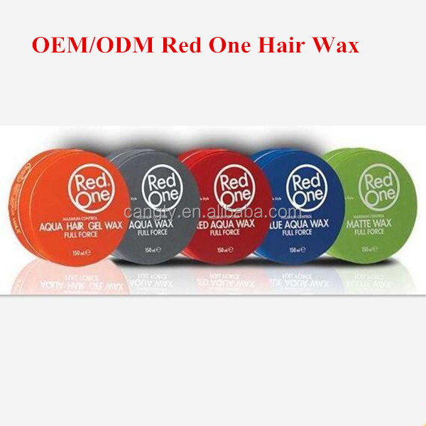 OEM/ODM professional hot selling hair wax red one brand name 150g