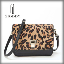 Fashionable lady luxury durable wide strap shoulder bag