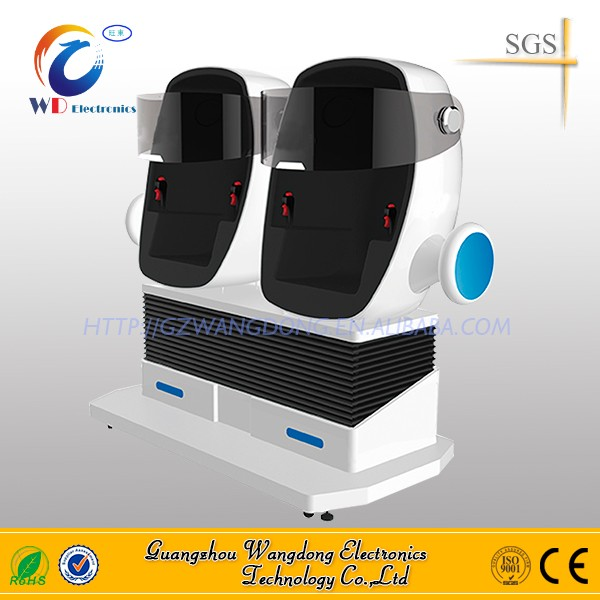 Electronic Rotation Theme Park Shop Mall Game 9d egg vr 9d cinema motion chair from wangdong with UL cirtificate