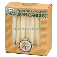 Safed White hanukkah Candles