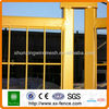 CE certificated PVC coated Portable Temporary Safety Guard Fencing