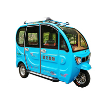 2017 hot sale three wheeler passenger electric tricycle for sale