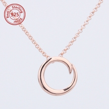 925 Sterling silver low price Delicate Simple necklace Modern silver Minimalist Jewelry