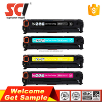 universal cb540a ce320a cf210a color toner cartridge for HP Coler Pro CM1415fnw
