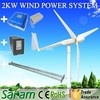 High Efficiency 2KW 48V Small Wind Power Generator