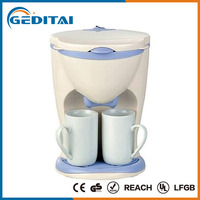 2016 2 cup stylish electric drip instant coffee maker