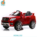 WDML350 Licensed Mercedes Benz ML350 ride on baby car toy, door open, music and light 2.4G r/c power display fashion present