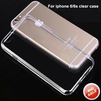 Cheap mobile phone case for iphone 6 case, transparent tpu 0.3mm case for iphone 6s