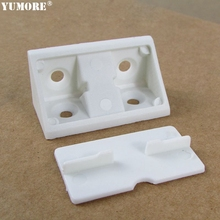 Kitchen furniture cabinet plastic wall corner L brackets