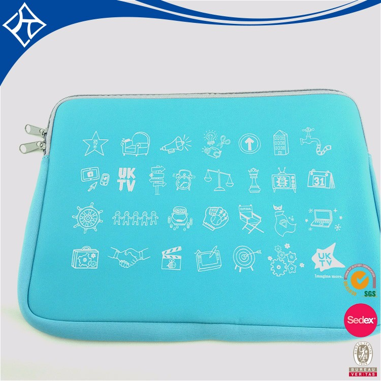 Neoprene Blue 15.5 Waterproof 13.3 Inch Laptop Sleeve