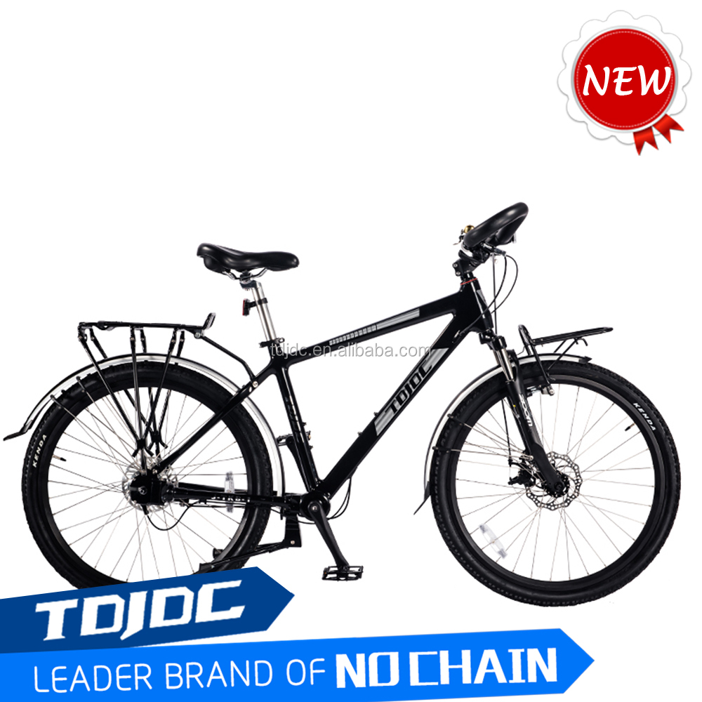 2016 New Design SHIMAN Inner 7-Speed Shaft Drive Trek Travel Touring Chainless <strong>Bicycle</strong> With 6061 Alloy <strong>Bicycle</strong> Frame
