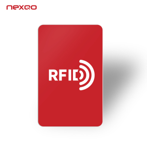 SRC01 Writable Contactless Custom Printed Access Control NFC Chip Card Smart PVC RFID Card