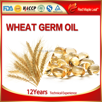 Herbal Food Supplements Anti-aging Wheat Germ Oil softgel capsules