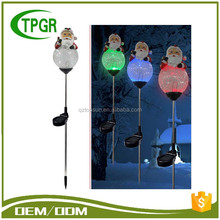 TG9380 Santa Solar Stake Garden Craft Home Light For Sale