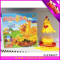 2015 new design small plastic toy chicken