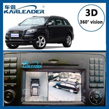 360 degree car camera system 3D bird view