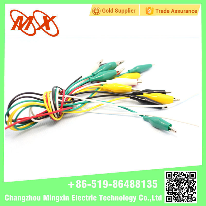 MX Crocodile Battety Colorful Test Small Wire car Alligator Clips