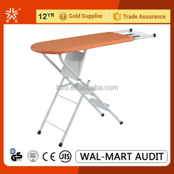 IB-6D Space saving anti slip Ladder Ironing board 3 step ladder with handrail