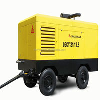 High Enegy Efficient Electric Screw Portable Industrial Air Compressor For Coal Mining