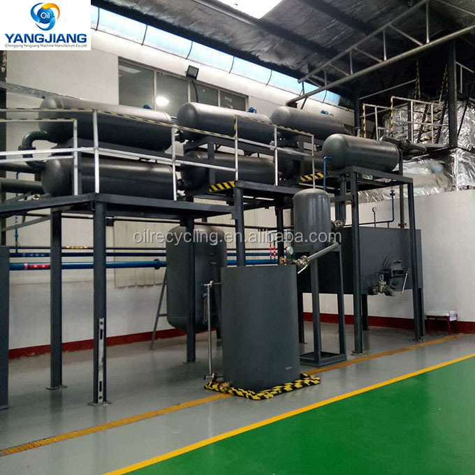Used Lube Oil Refinery Plant for Industrial Oil