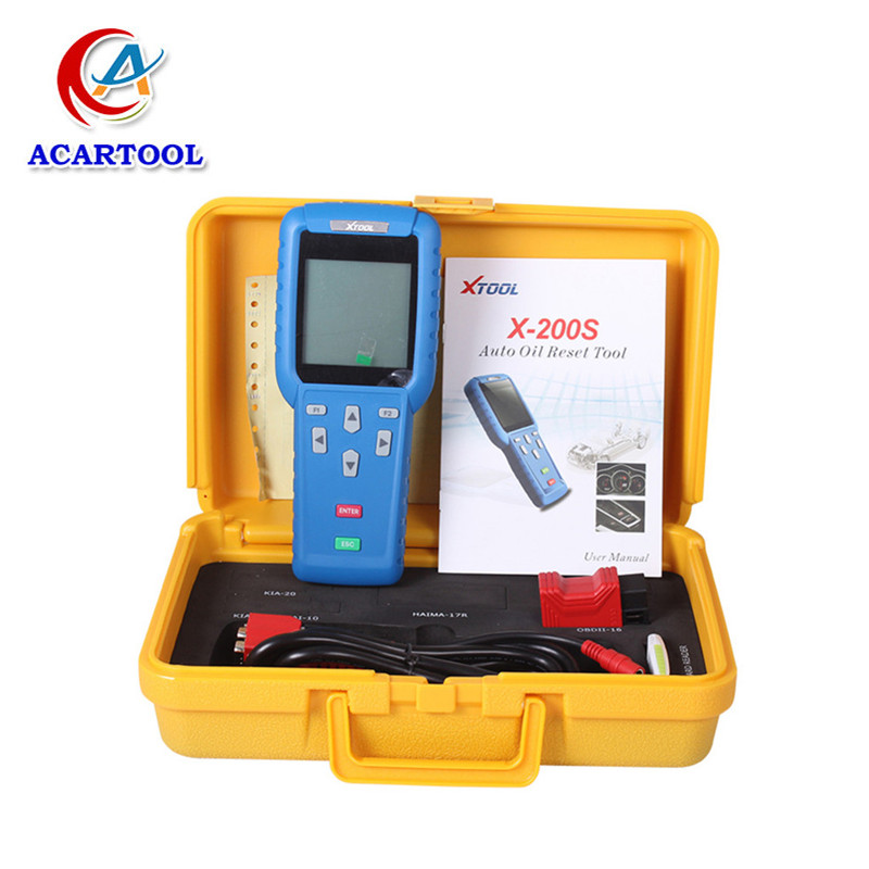 Xtool X200S Airbag Reset X-200S Scanner X 200S Oil Reset Tool X-200 Airbag Reset Tool X200 S OBD2 Code Reader Update Online