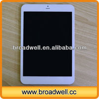 7.85 inch IPS Screen MTK8389 Quad Core 3G perfect white skin whitening tablet with GPS Bluetooth