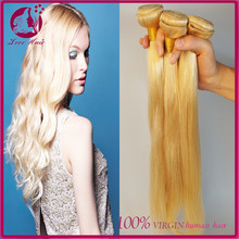 613 blonde hair weave original brazilian human hair straight