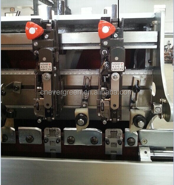 China factory reasonable price top quality book bind saddle stitching machine