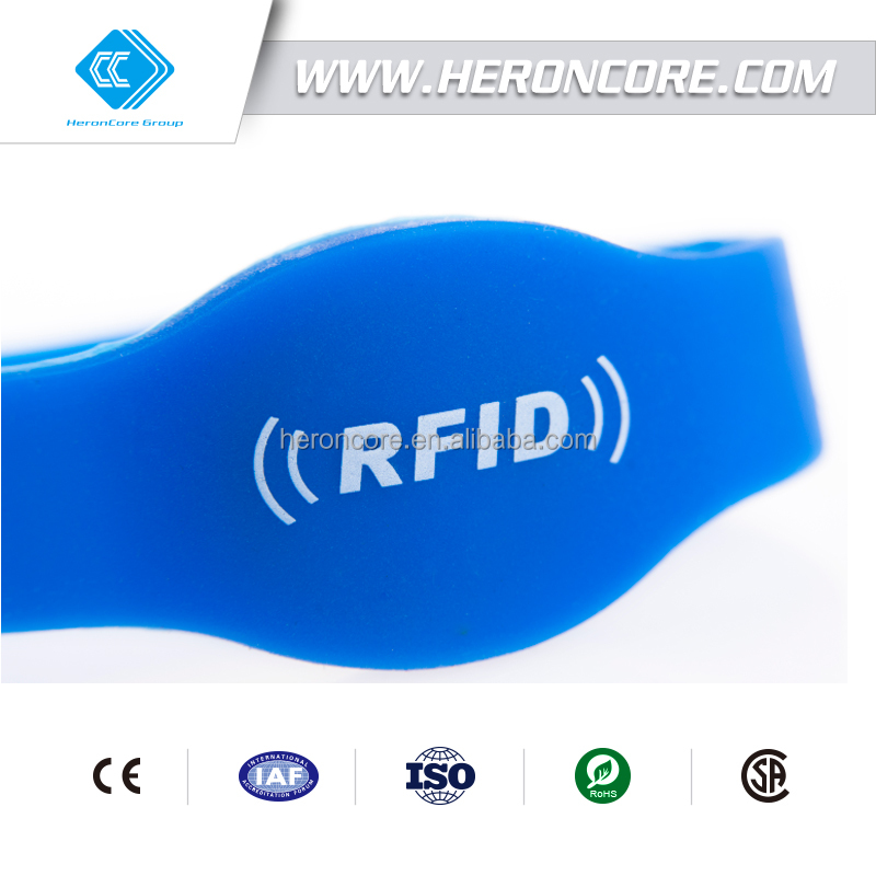 RFID pulsera,rfid wristband for swimming pool ,water park RFID Wristband