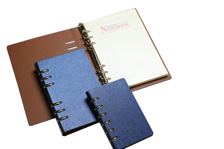 Promotional Stationery Custom Logo Pu Leather Hard Cover Notebook And Pen Gift Set