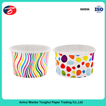 3oz beverage use custom printed ice cream paper cup